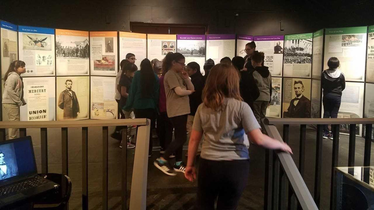 Abraham Lincoln Pop-Up Exhibit