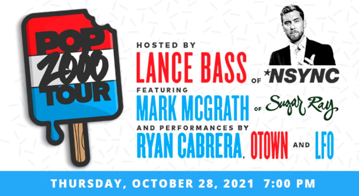 Pop 2000 Tour Hosted by Lance Bass at Genesee Theatre
