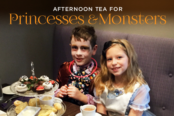 Princess & Monsters Tea at The Chocolate Sanctuary