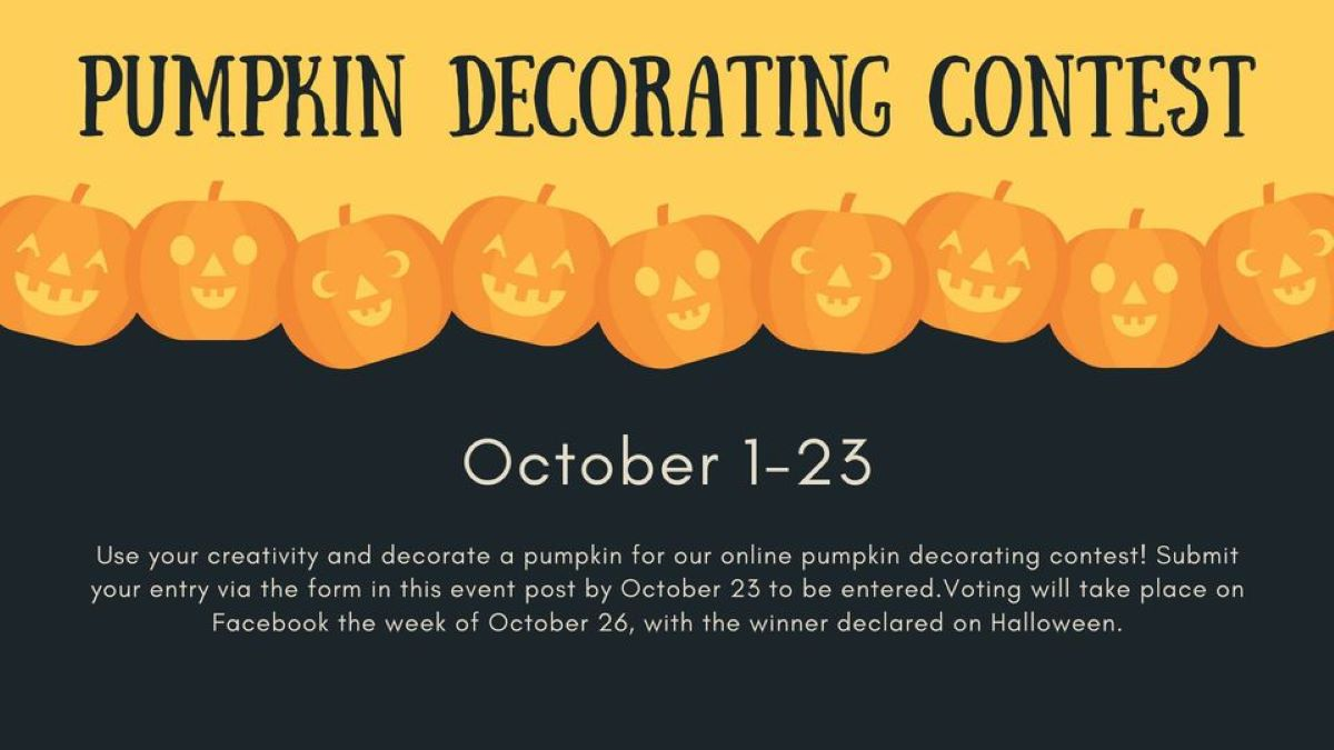 Pumpkin Decorating Contest with Grayslake Area Public Library