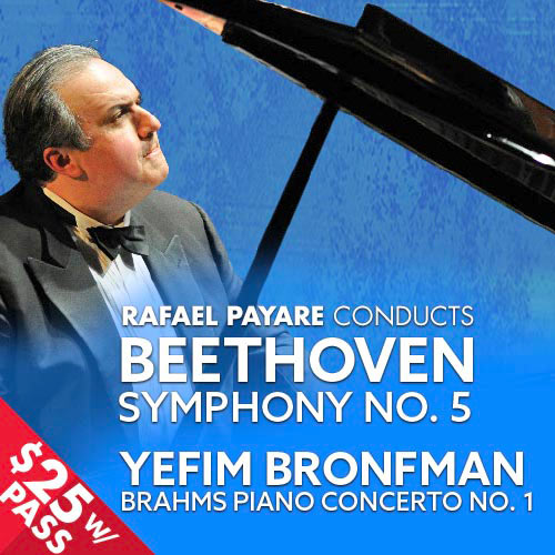 CSO: Beethoven & Brahms with Rafael Payare and Yefim Bronfman
