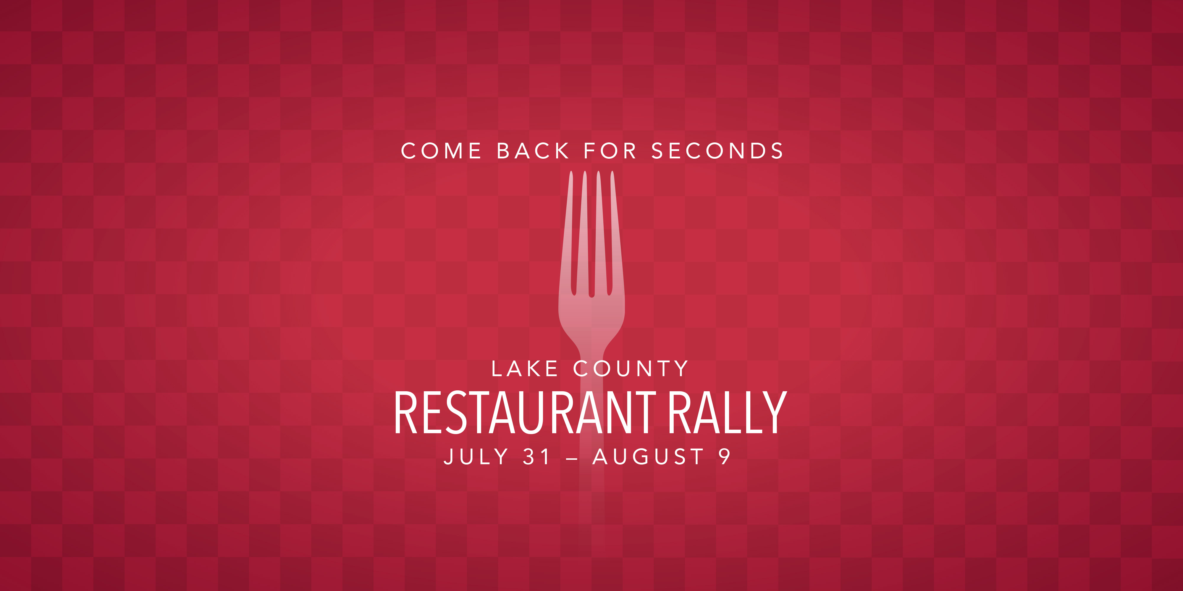 Lake County Restaurant Rally
