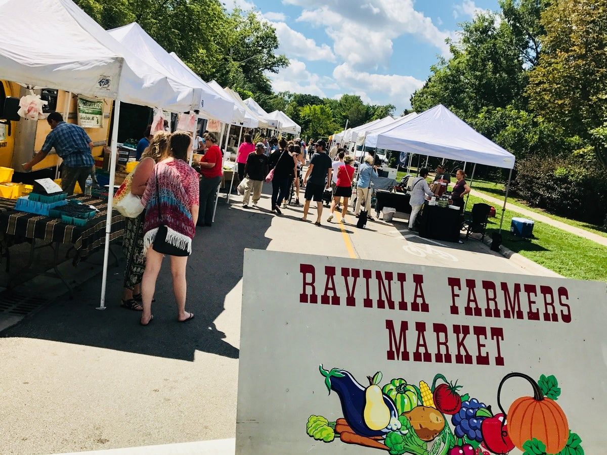 Ravinia Farmers Market in Highland Park