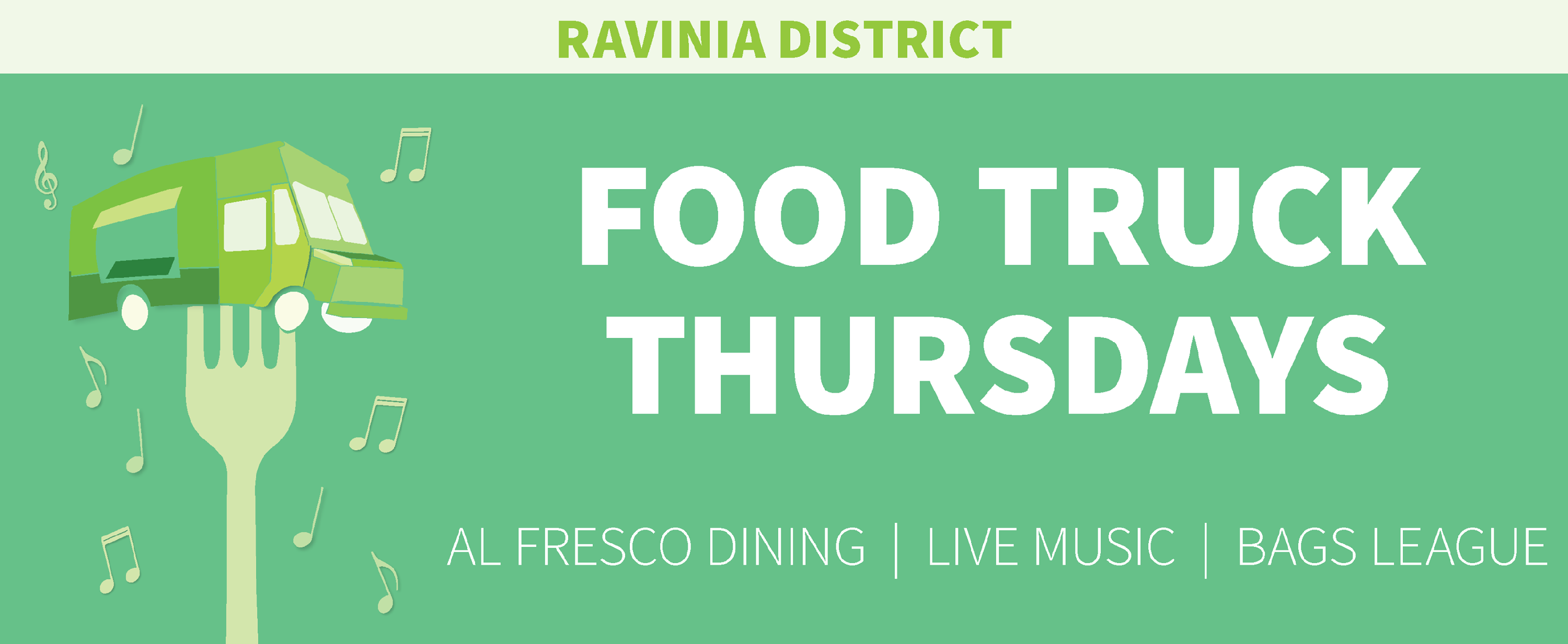 Ravinia District Food Truck Thursdays in Highland Park