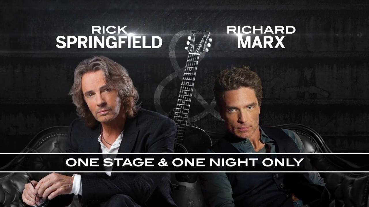 Rick Springfield and Richard Marx