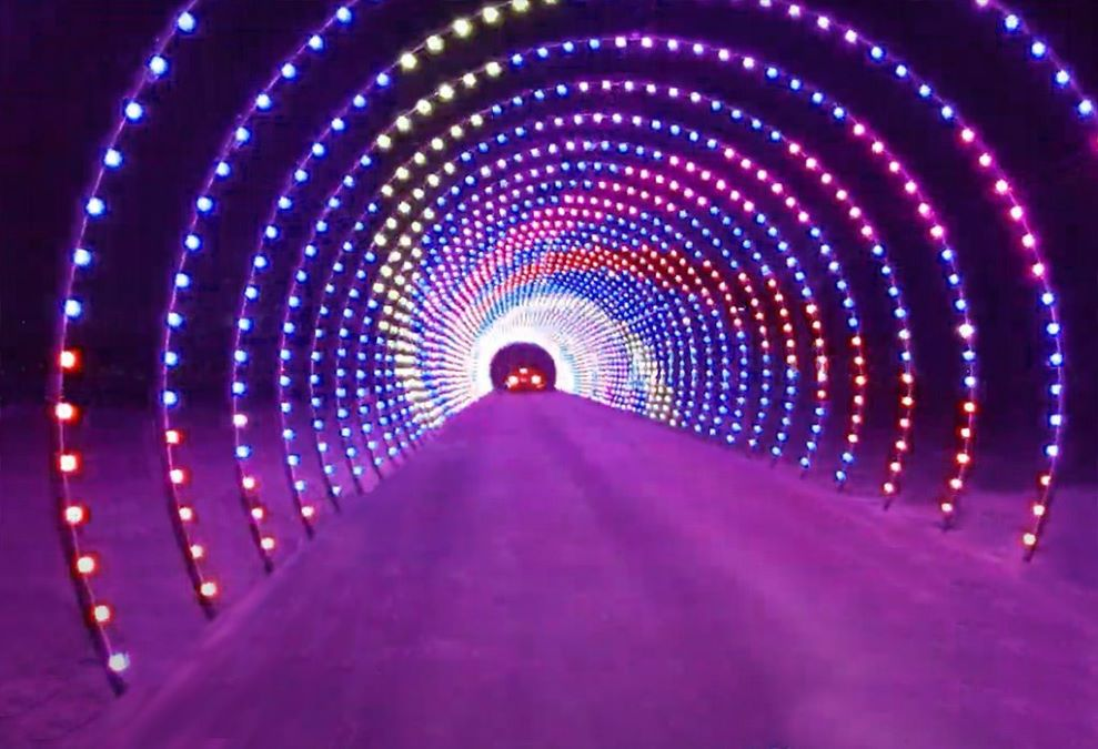 Santa's Rock N Lights at the Lake County Fairgrounds