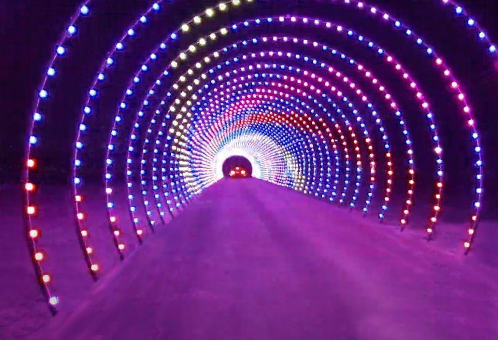 2021 Christmas Lights Show Illinois