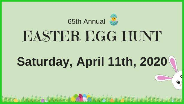 65th Annual Easter Egg Hunt hosted by the Zion Park District