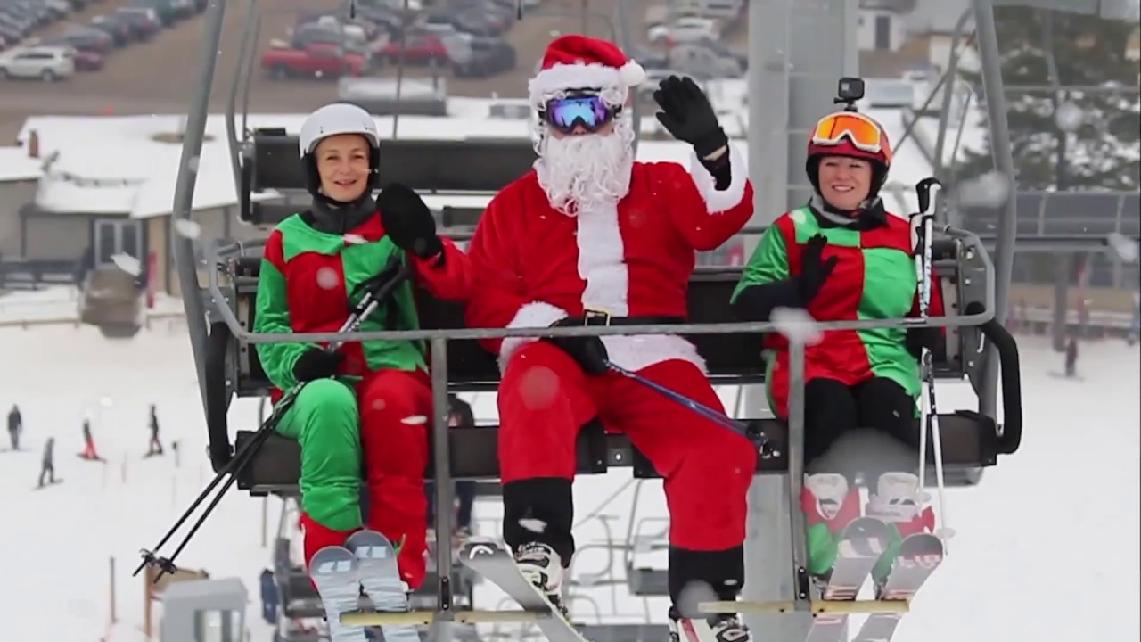 Ski & Dine with Santa and Mrs. Claus at Wilmot Mountain