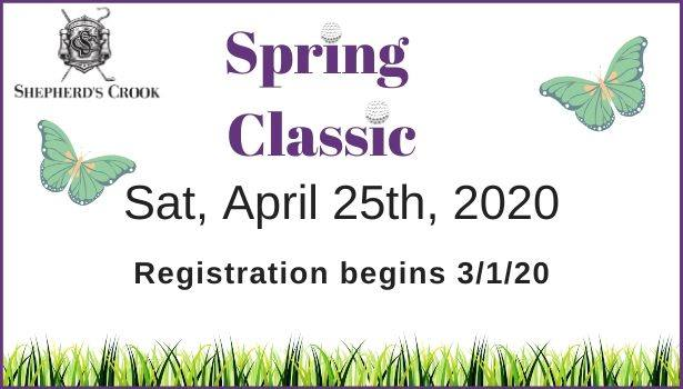 Shepherd's Crook Golf Course Spring Classic