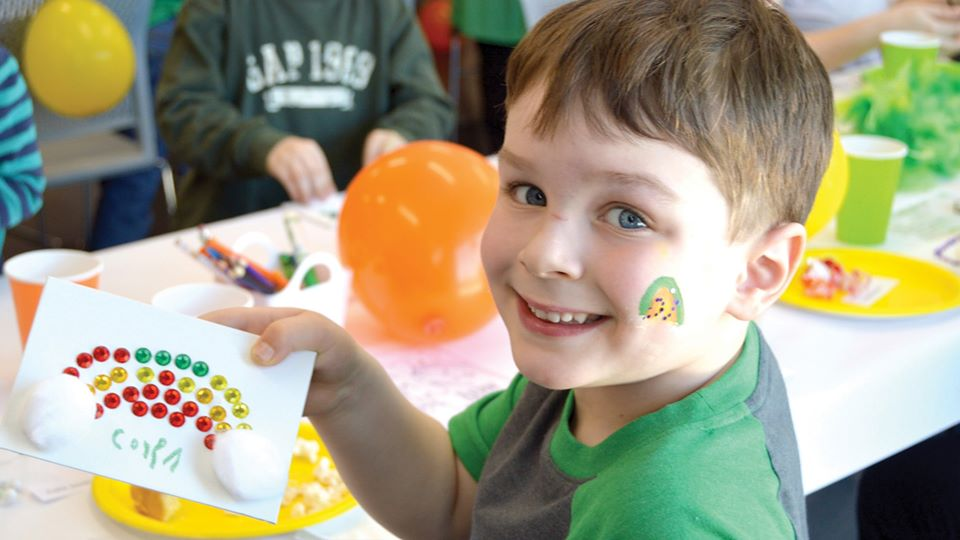 St. Patrick's Day Fun at the Dunbar Recreation Center