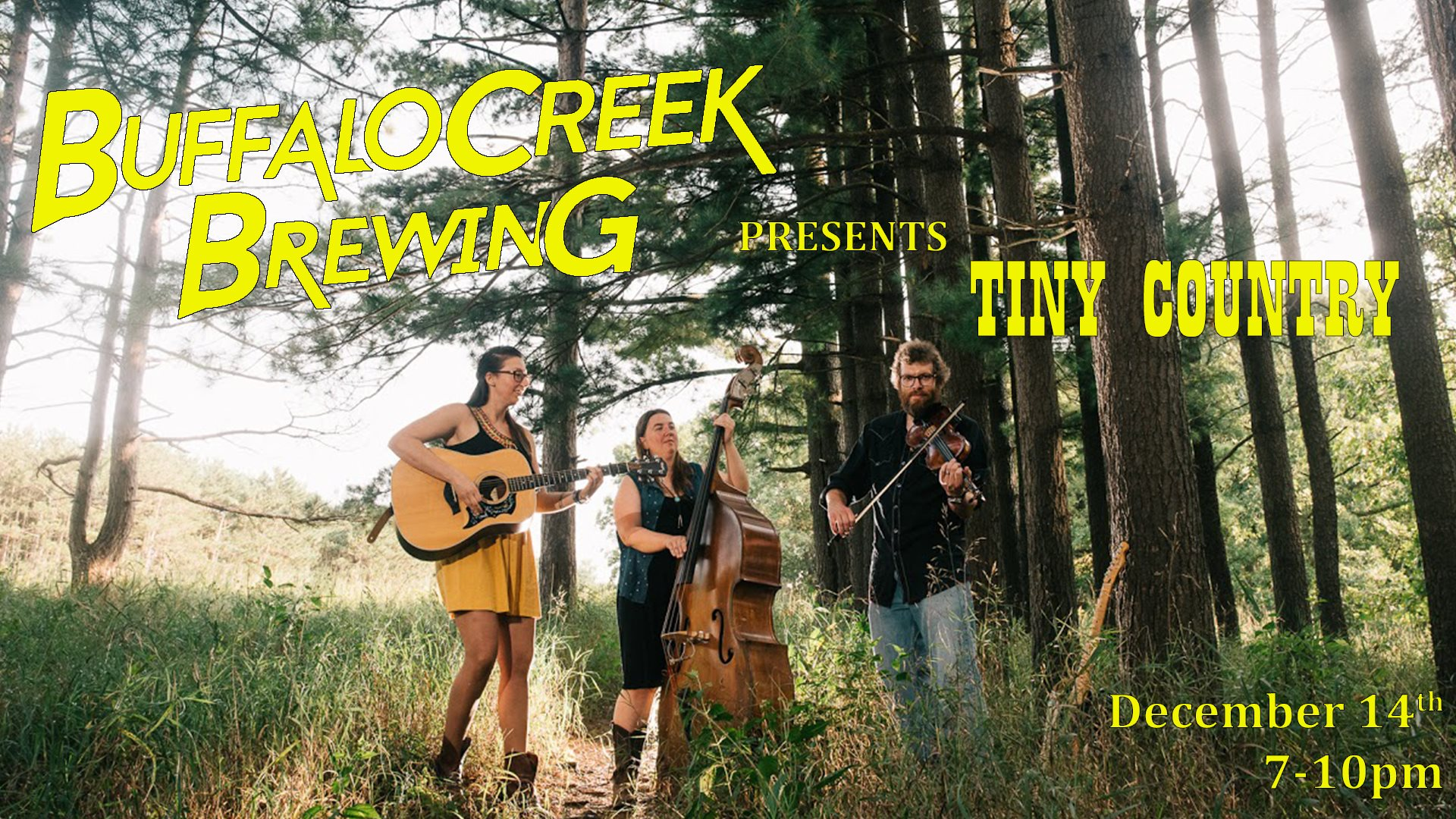 Buffalo Creek Brewing Pint of Music - Tiny County