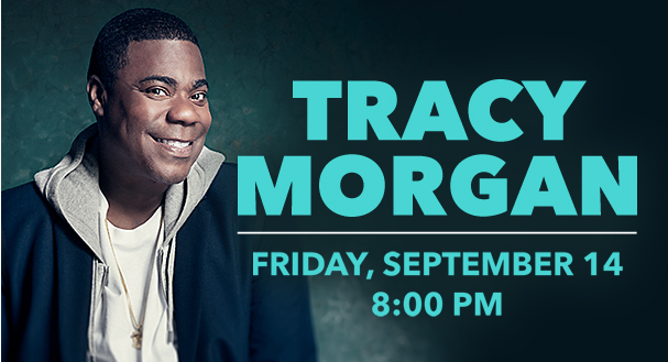 Tracy Morgan at the Genesee Theatre