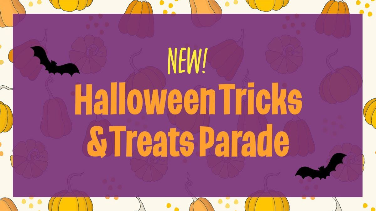 Halloween Tricks and Treats Parade at the Lake Forest Parks and Recreation