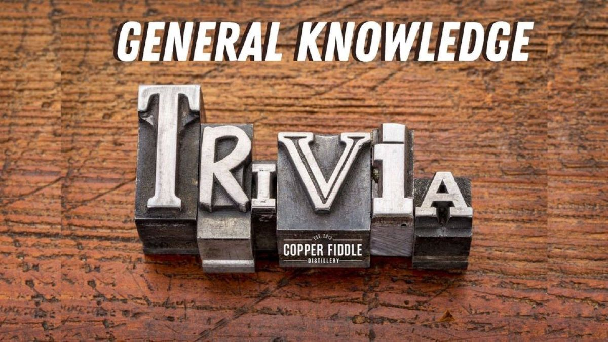 General Knowledge Trivia at Copper Fiddle Distillery