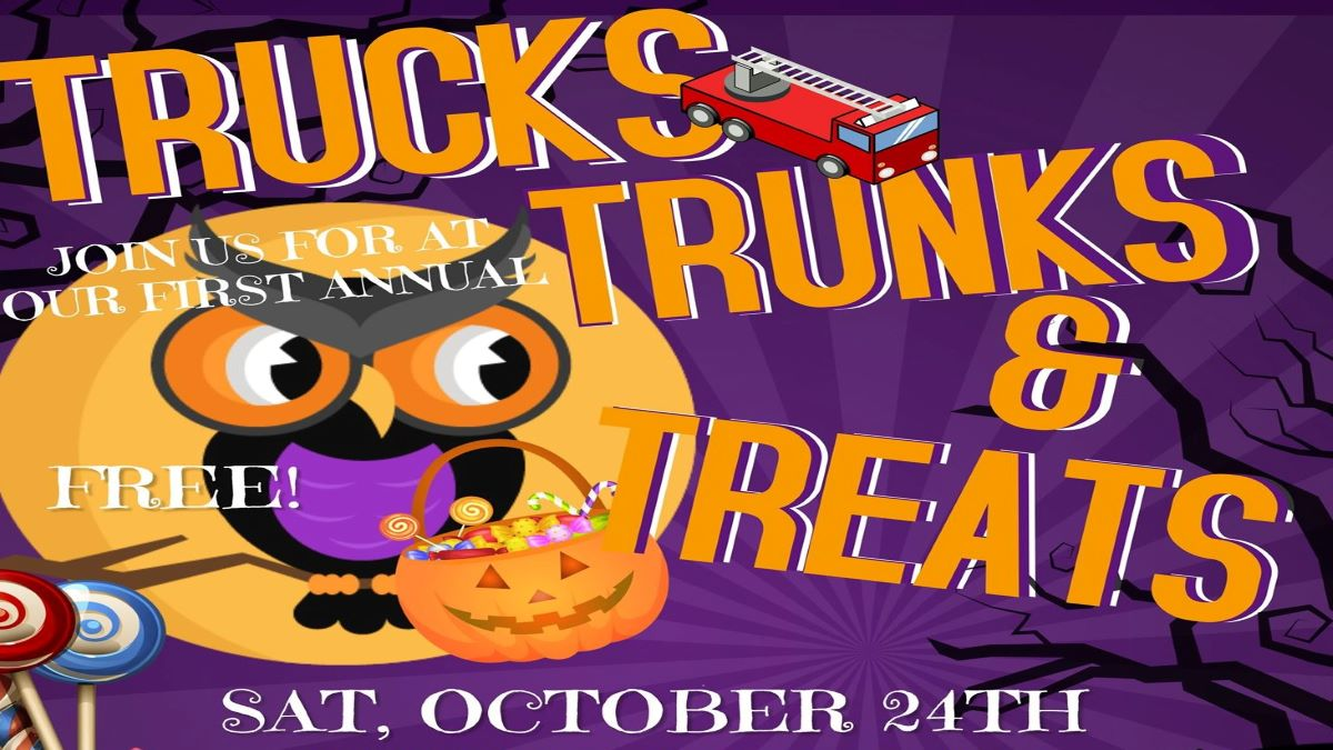 Trucks, Trunks and Treats with Lindenhurst Park District