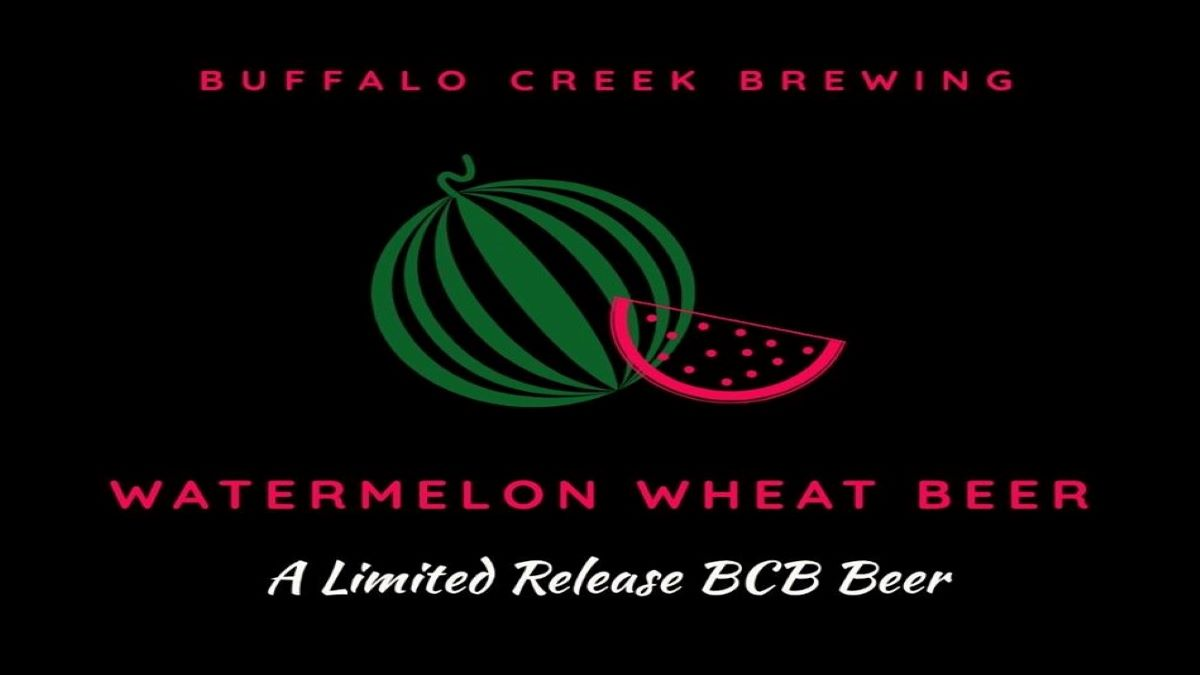 Watermelon Wheat Beer Returns to Buffalo Creek Brewery