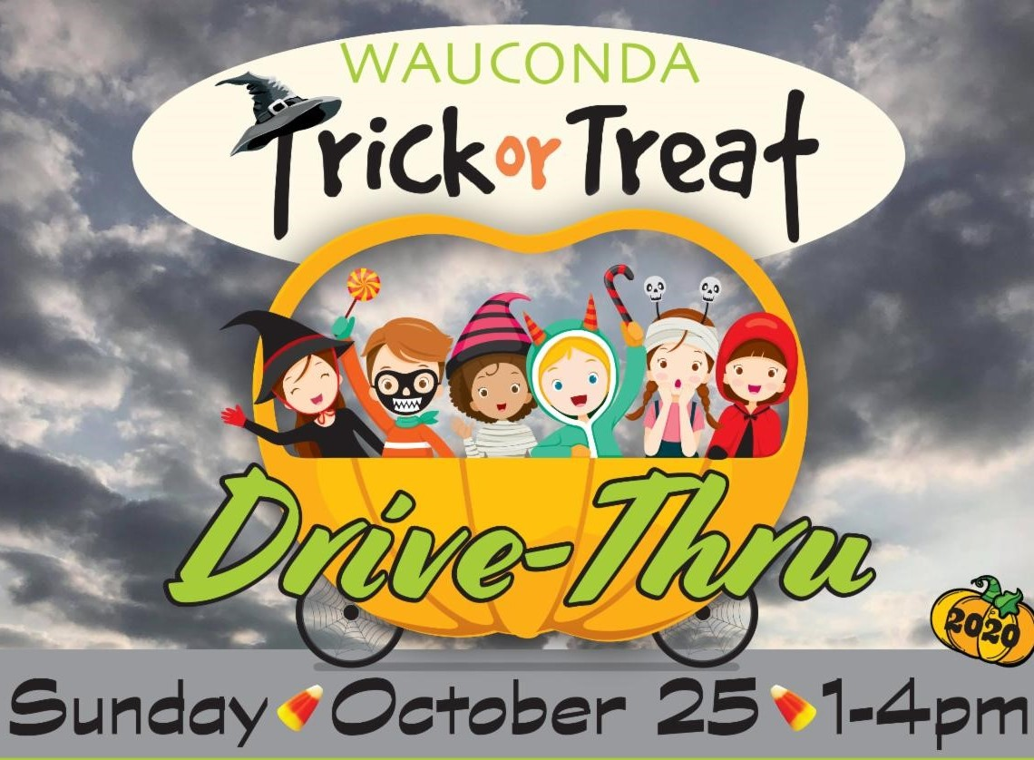 Trick or Treat Drive Thru at Wauconda Park District