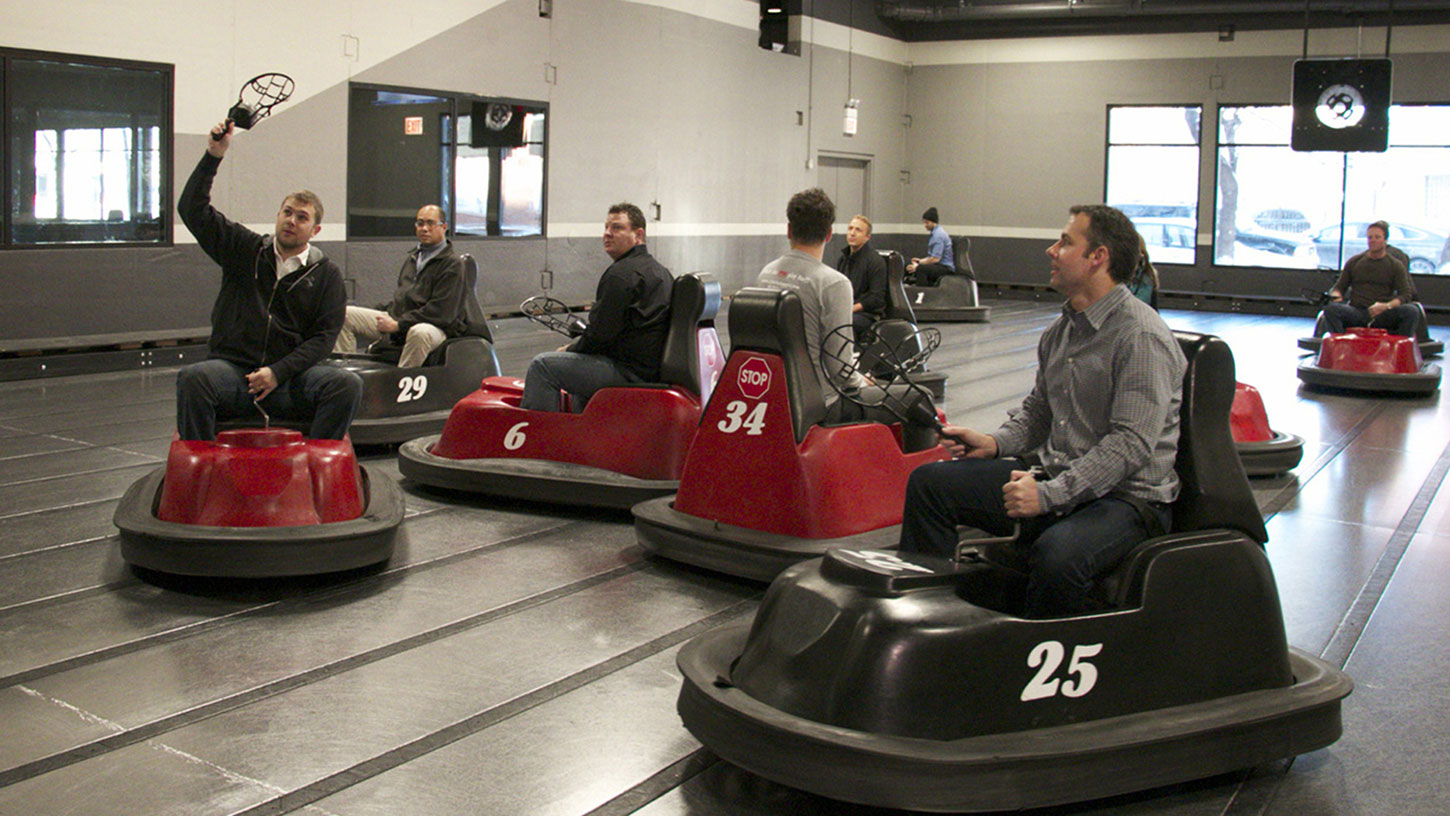 Goose Island Beat the Brewer at WhirlyBall