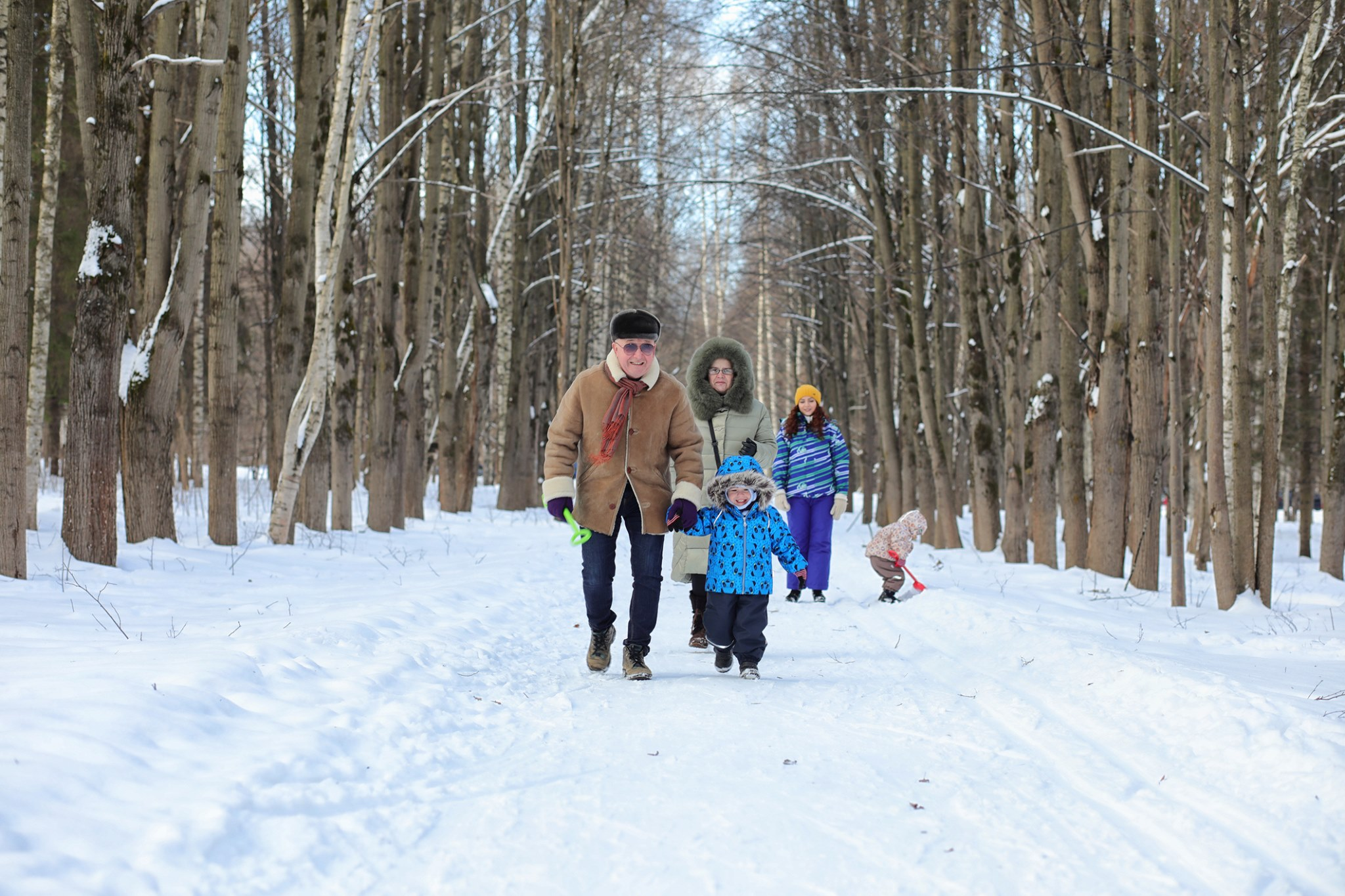 Winter Discovery Walk at the Ryerson Woods