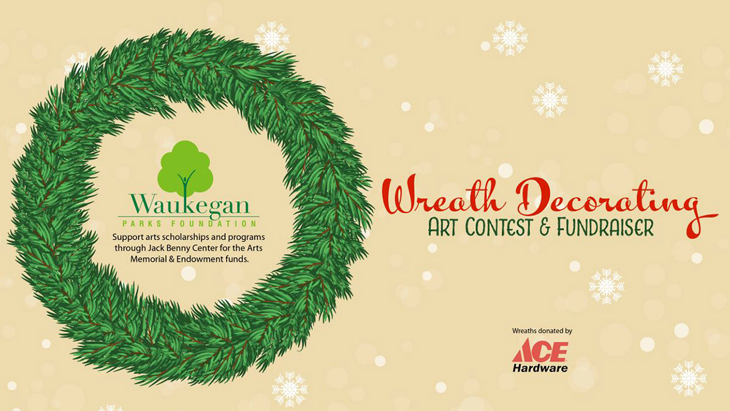 Wreath Decorating Art Contest with Waukegan Park Foundation
