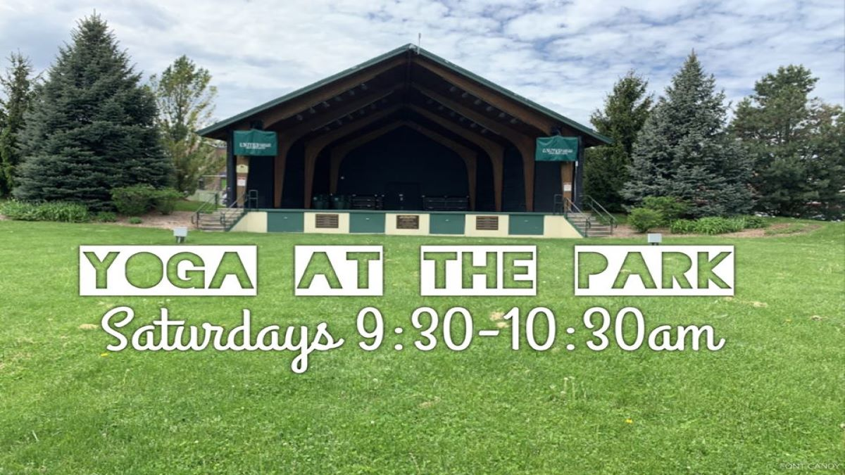 Yoga in the Park at Antioch Bandshell