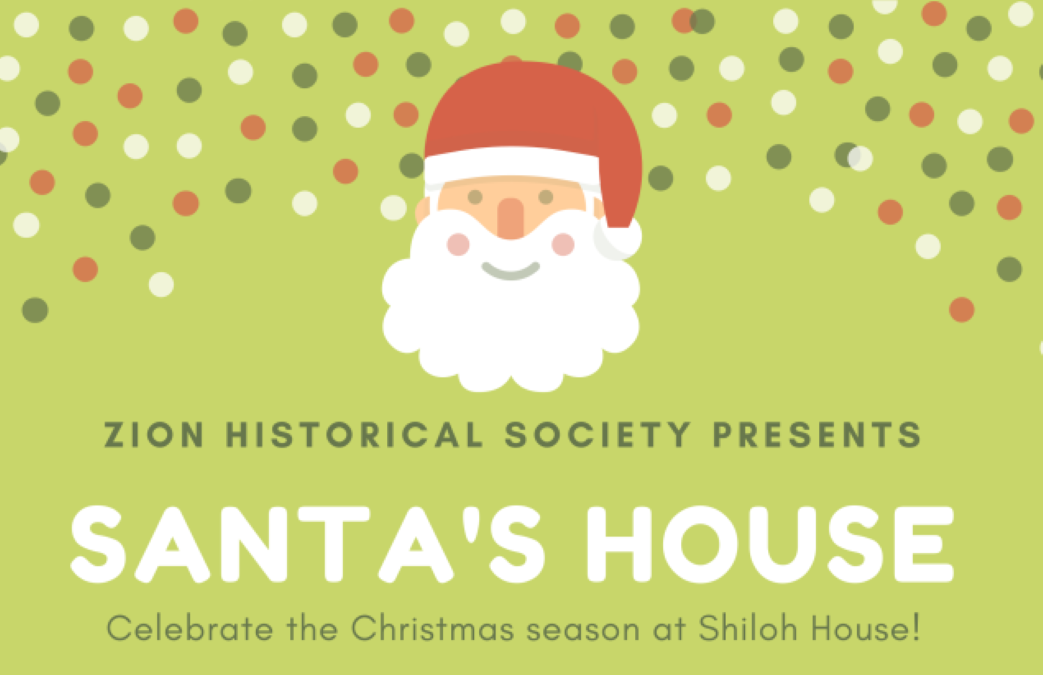 Santa Saturdays and House Tours at Shiloh House