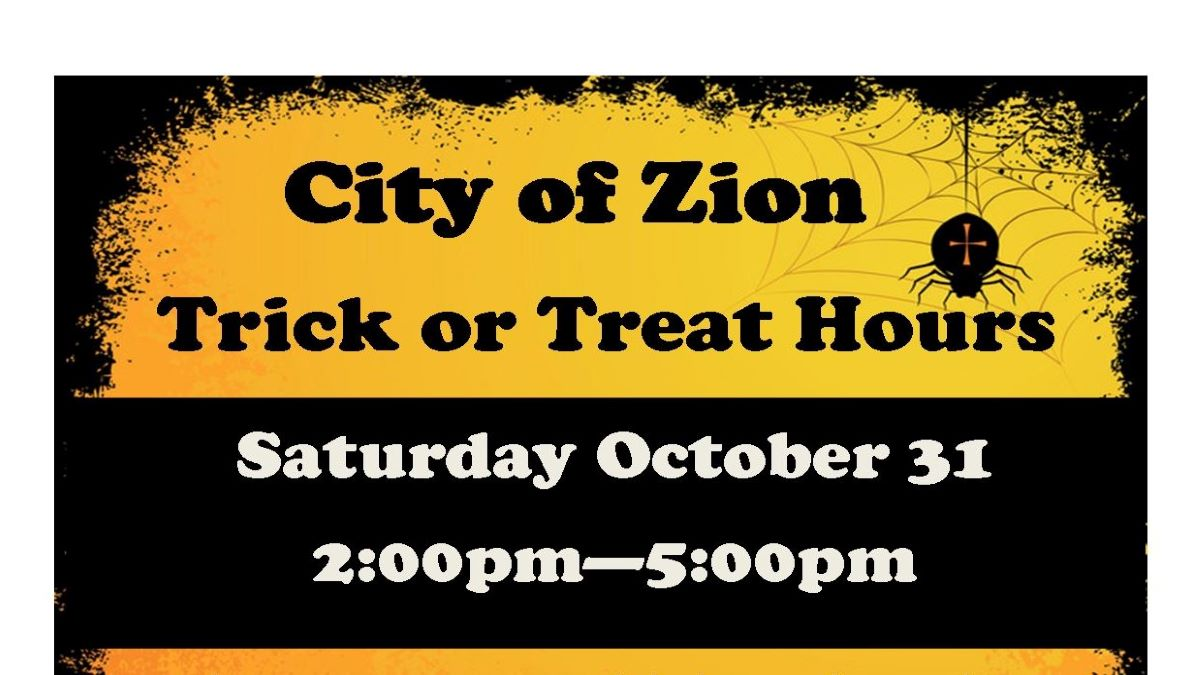 City of Zion Trick or Treat