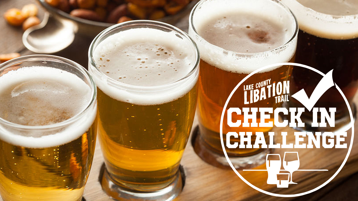 Lake County Libation Trail Check-in Challenge runs April 9-18