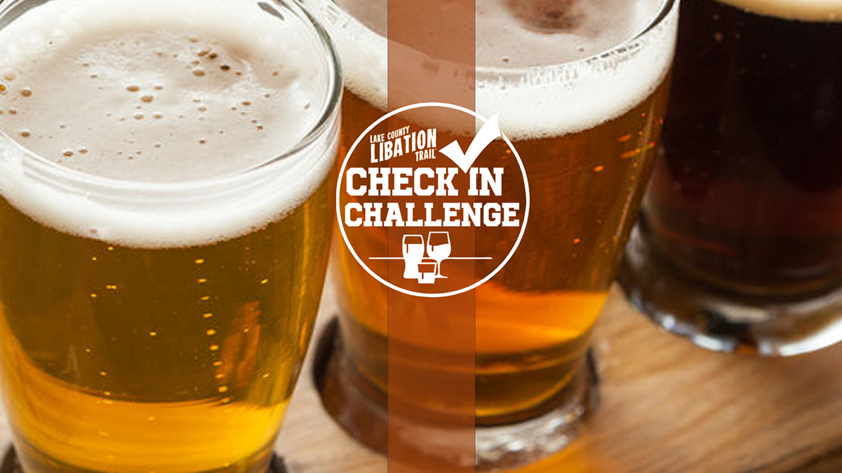 Lake County Libation Trail Check-In Challenge