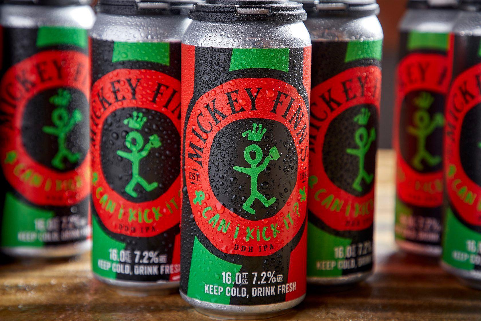 Mickey Finn's Can I Kick It IPA