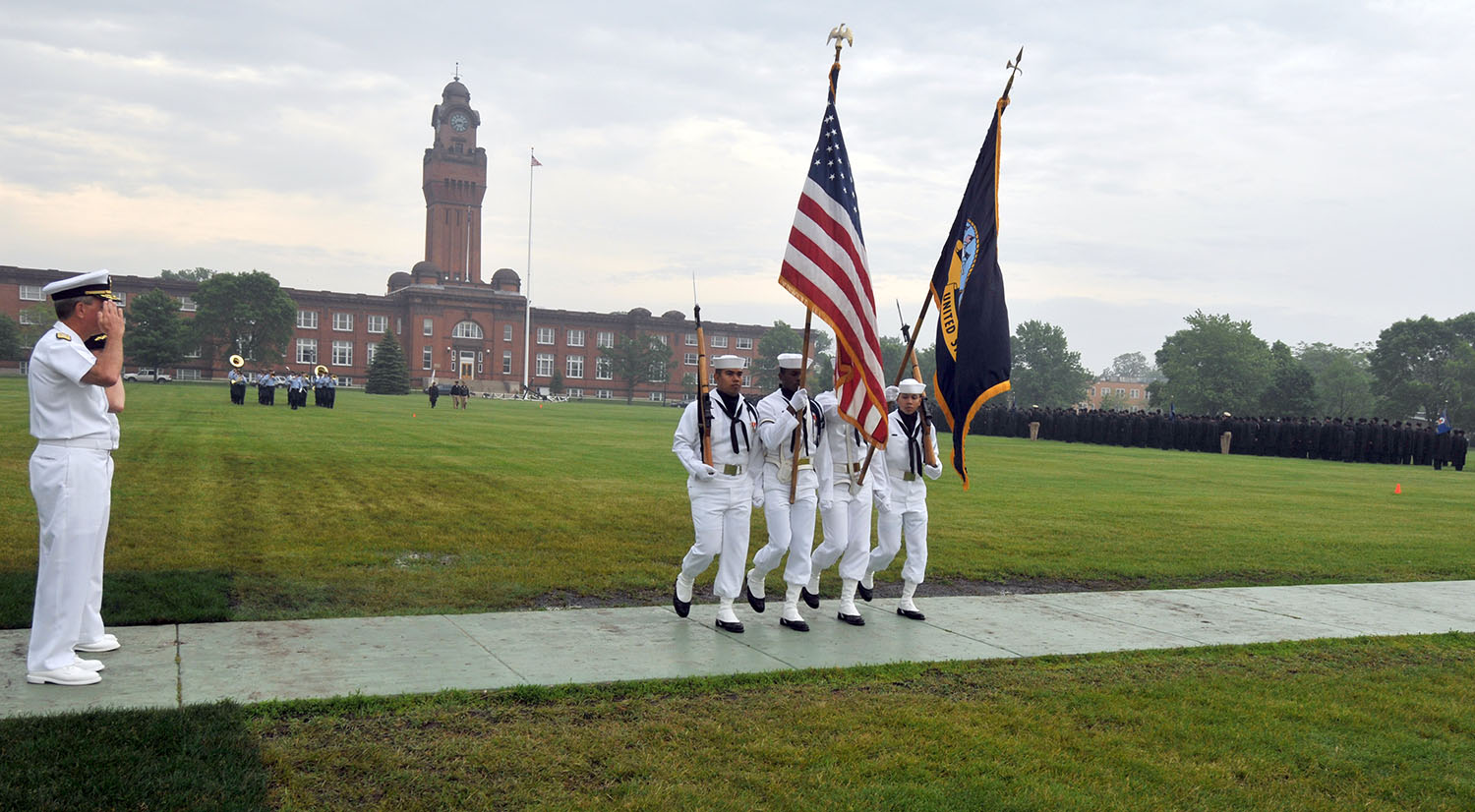 Great Lakes Naval Recruit Training Command