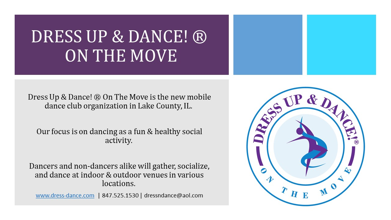 Dress Up & Dance On The Move!