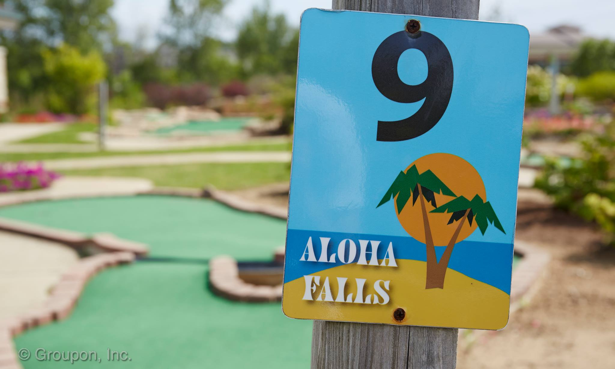 Aloha Falls Miniature Golf & Games