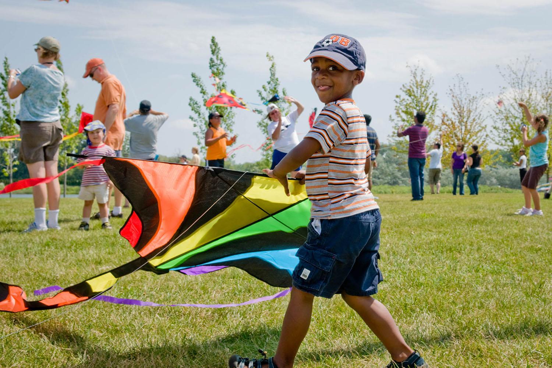 Kite Fest at Chicago Botanic Garden