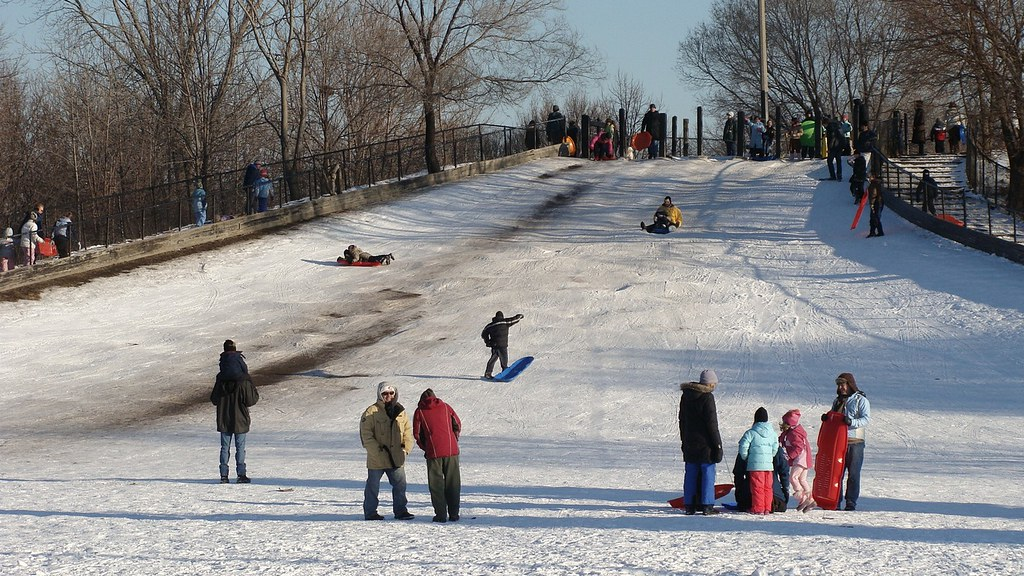Warren Township Sled Hill