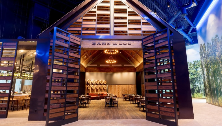 Barnwood Restaurant inside Great Wolf Lodge Gurnee
