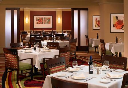 Meritage Bar & Restaurant in the Marriott Suites Deerfield
