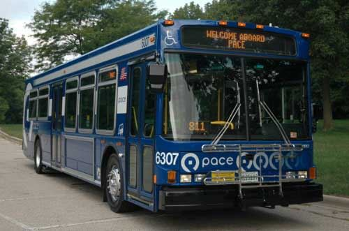 Pace Suburban Bus Service - Click to Enlarge