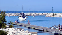 Lake Michigan Charter Fishing - North Point Marina
